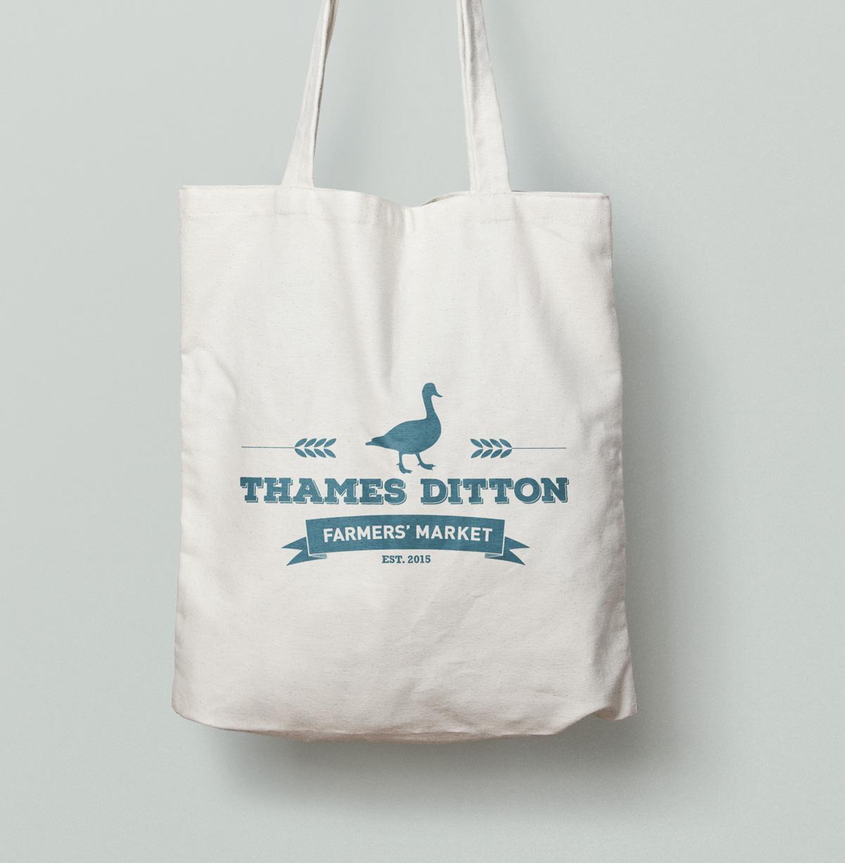 td farmers market tote bag